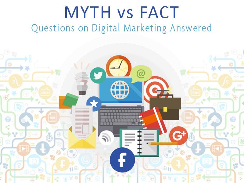 The 7 Myths about Digital Marketing